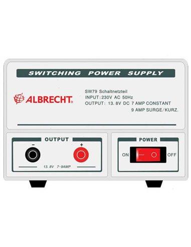 Albrecht SW-79 7-9A 13.8 voeding