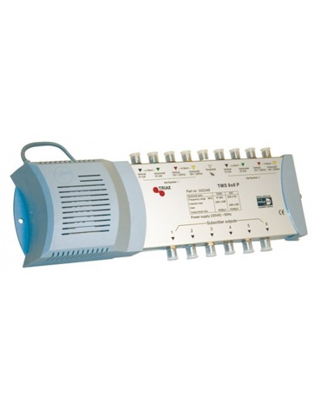 Triax TMS-96P DiSEqC multiswitch 9 in / 6 uit