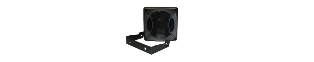 Autoradio en -speakers
